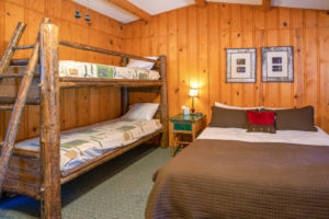 West-Beckwith-Cabin-–-king-bed-and-twin-bunkbeds-300x200.jpg